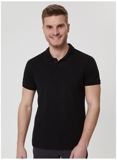 Lee Cooper Lee Cooper Erkek Siyah Polo Yaka T-Shirt Siyah